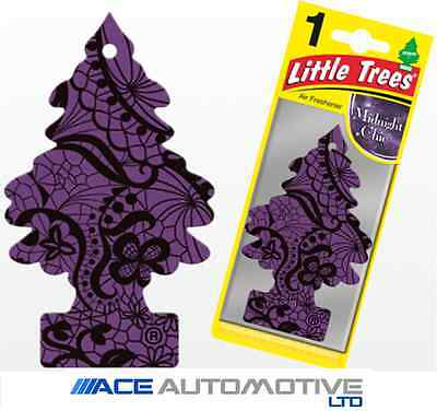 Magic Tree Little Trees Car Home Air Freshener Freshner Scent - MIDNIGHT CHIC -