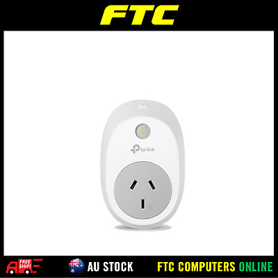 TP-LINK HS100 Smart WiFi Plug SWITCH Turn electronics on/off IOS/Android KASA