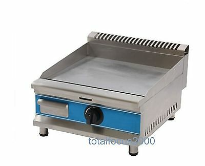 Commercial Table Top Stainless Steel Gas Griddle Gas Flat Griddle LPG Gas Grid