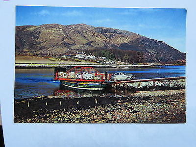 Vintage c1960s Ballychulish Ferry, Loch Leven, Real Photo Postcard