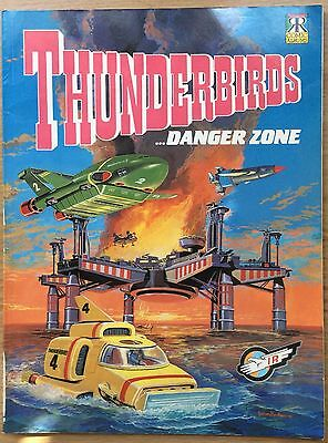 Thunderbirds Comic Album … DangerZone UK Book