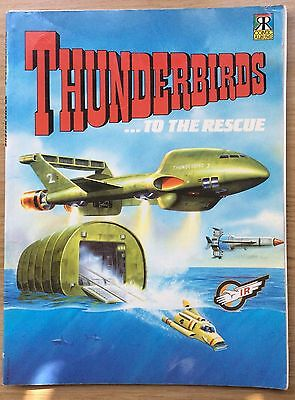 Thunderbirds Comic Album … To The Rescue UK Book