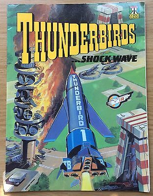 Thunderbirds Comic Album … Shock Wave UK Book