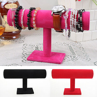 New Bracelet Chain Watch Hairband Jewelry Display Stand Holder Showcase