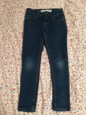 Girls Slim Fit Blue Jeans Age 7 8