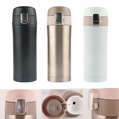 350ML Stainless Steel Travel Mug Water Thermos Vacuum Flask Thermal Cup Bottle