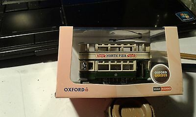 N gauge model tram by Oxford diecast