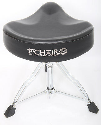 Tama 1st Chair Drum Throne Saddle Seat Double Braced Heavy Duty Stool