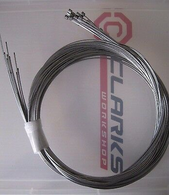 WHOLESALE Bike inner Gear cables 10, 20,30, 50 Clarks Bicycle derailleur wire
