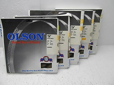Olson Band Saw Blades Lot Of 5