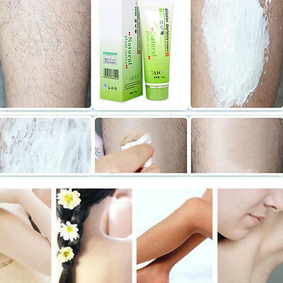 Natural Painless Depilatory Hair  Body Leg Removal Cream - Uk