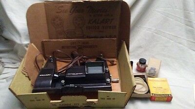 Vintage Kalart Editor Viewer  Eight 8mm Film Movie Splicer with box