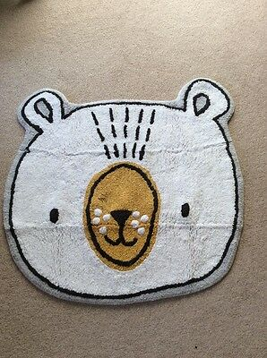 "NEXT ""Little One"" Bear Rug Nursery / Playroom/ Bedroom"