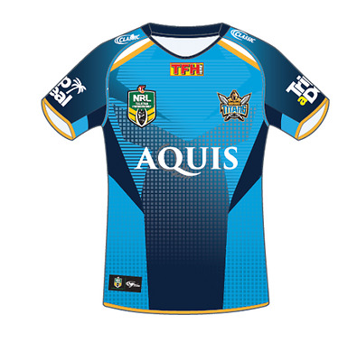 Gold Coast Titans NRL 2017 Classic Home Jersey Adults and Kids Sizes! In Stock!