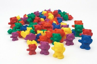 Three Bear Family Counters Rainbow Set, Set of 96, 6 colours Learning Resource