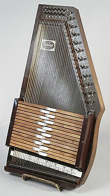 Vintage Oscar Schmidt Airline Auto Harp 15 Chord 36 String In Box With Manuals