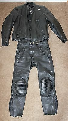 Stein 2 piece motorcycle leathers