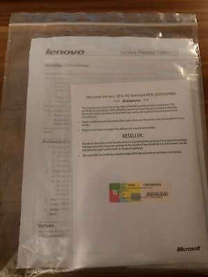 Microsoft Windows Server 2012 R2 64bit Standard IBM / Lenovo ROK  *NEU*