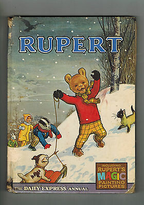 RUPERT ANNUAL 1967 original book - good reader!