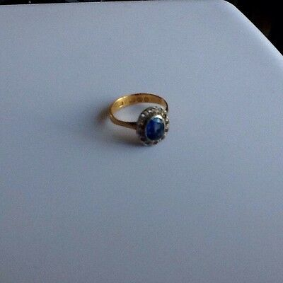 Victorian 22ct  Gold Ring Dated Birmingham 1896