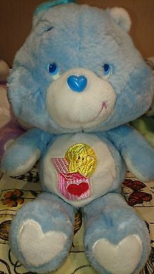 "Rare Vintage Surprise Bear 13"" Plush Care Bear 1985 by Kenner"