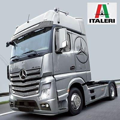 Italeri Model Kit - Mercedes Benz Actros MP4 Gigaspace Truck - 1:24 Scale - 3905