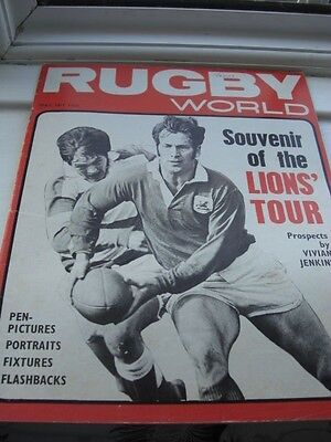 Rugby World Magazine - May 1971 - Lions Tour Of New Zealand/australia