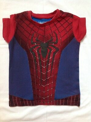 Baby Boys Spiderman T-Shirt 12-18 months (1-2 years) top