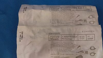 HAR9F ETHICON HARMONIC FOCUS CURVED SHEARS 9CM Exp 2021 - 2 qty