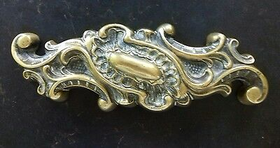 A Large Heavy Antique Brass Paperweight/Doorstop
