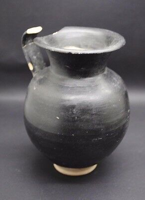 Ancient Greek Black Ware Jug 4Th Century Bc