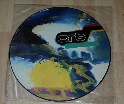 """The Orb - Perpetual Dawn 12"""" vinyl ltd Picture Disc 12"""" promo 1991 Weatherall"""