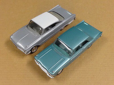 2 Vintage Ford Fairlane Promos 1961 and 1962