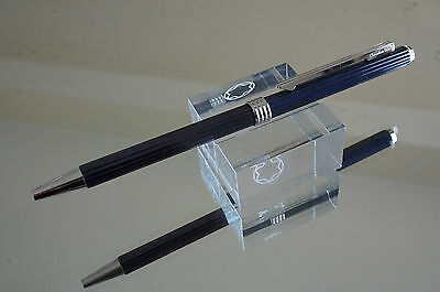 Vintage (1980's) CHRISTIAN DIOR Ballpoint Pen Blue Petrol - New in box