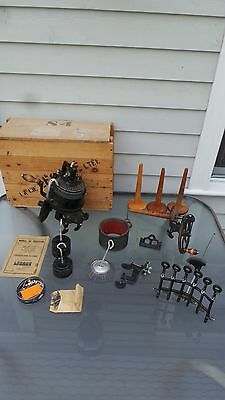 EXCELLENT LEGARE 47 Sock Knitting Machine 2 CYL 72/84 RIB 36 All Accessories