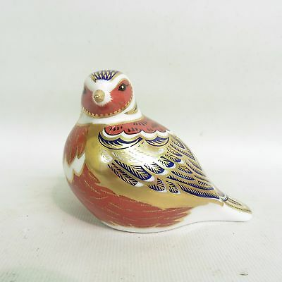 Royal Crown Derby Chaffinch Paperweight, 1St Quality