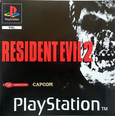 Resident Evil 2 Pal Playstation Ps1  Game Retro