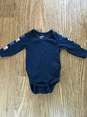 Baby Gap Long Sleeved Body Suit 0-3 Months