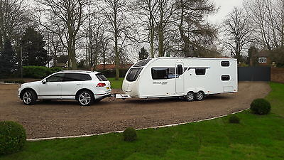 Sterling Eccles 636 twin axle touring Caravan 2013 6 berth with bunks