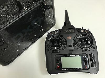 Spektrum DX9 Black with AR9020 and Case - Unused