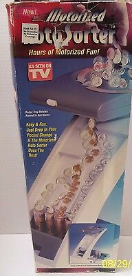 "VHTF ""RotoSorter"" Motorized Coin Sorting Machine As Seen on TV 20"" Tall Works"