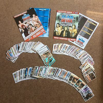Topps Slam Attax Rebellion And Evolution Trading Cards Over 270Cards