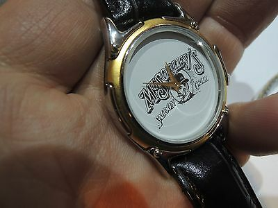 New old stock Quartz MEN'S McSORLEY'S SALON GRILL BARTENDERS WATCH