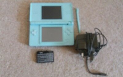 nintendo ds lite console with case charger  and stylis