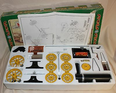 Vintage Mamod Steam Traction Engine And Cart Kit In Original Box Never Touched