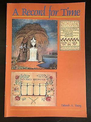 A Record for Time: Nova Scotia embroidery, samplers pre-1900; book