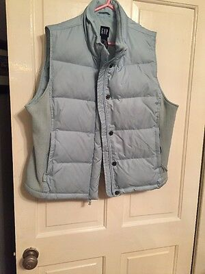 Ladies Blue GAP Bodywarmer Size XL