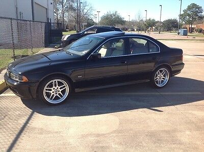 2002 BMW 5-Series  2002 BMW 525i Black/Tan only 27650 miles