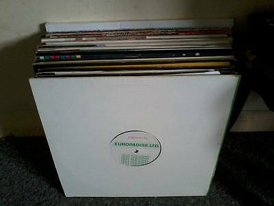 Joblot Of Vinyl Records Dance,house,techno,drum & Bass + Promo's & Test Press