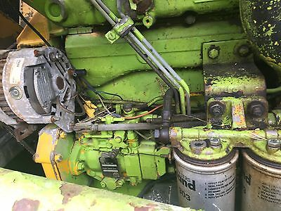 Manitou/ Case International Engine From A Manitou Loader Tractor